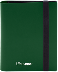 Ultra Pro 4 Pocket Pro-Binder - Forest Green