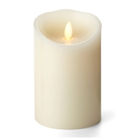 "Luminara - Flameless LED Candle - Indoor - Unscented Ivory Wax - Remote Ready - 3.5"" x 5"""
