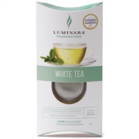 Luminara  Fragrance Cartridge For Fragrance Diffusing Candles - White Tea