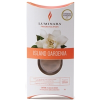 Luminara  Fragrance Cartridge For Fragrance Diffusing Candles - Island Gardenia