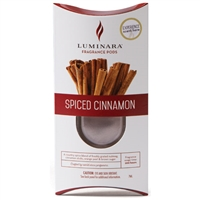 Luminara  Fragrance Cartridge For Fragrance Diffusing Candles - Spiced Cinnamon