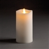 "LightLi by Liown - Moving Flame - Flameless LED Candle - Ivory Wax - Remote Ready - 3.5"" x 7"""