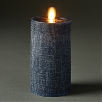 "LightLi by Liown - Moving Flame - Flameless LED Candle - Midnight Linen Wax - Bluetooth App Ready - Remote Ready - 3"" x 6"""