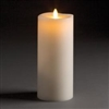 "LightLi by Liown - Moving Flame - Flameless LED Smart Candle - Ivory Wax - Remote Ready - Bluetooth App Ready - 3.5"" x 8.5"""