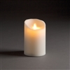 "LightLi by Liown - Moving Flame - Flameless LED Candle - Outdoor - Ivory ABS Plastic - Remote Ready - 3.5"" x 5"""