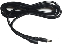 10-ft Power Extension Cable - 5.5mm x 2.1mm Barrel Connectors - Works With Battery Eliminator Kits