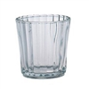 "Tealight Candle Cup Holder - Clear Glass With Scalloped Edges - 2.2"" x 2.4"""