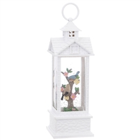 "RAZ Imports - 11"" Birds in Lighted Water Gazzebo - Lighted Water Lantern"