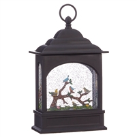"RAZ Imports - 11"" Birds on Branch Lighted Water Lantern"
