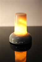 The Light Garden - FlameIllusion (Formerly FlameWave) Advanced Digital Flame Simulation Fire Module - Rechargeable - Indoor