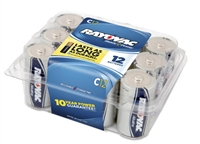 Rayovac - C - 1.5V - Ready Power Alkaline Battery - 12-Pack