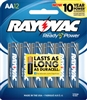 Rayovac - AA - 1.5V - Ready Power Alkaline Battery - 12-Pack