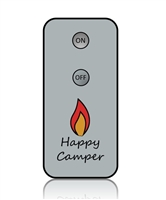 """Happy Camper"" Hand-Held Remote Control for ""Happy Camper"" Remote Control Enabled Moving Flame LED Candles"