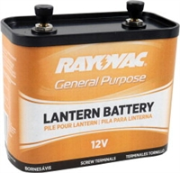 Rayovac - 12V - General Purpose Lantern Battery - Screw Terminals