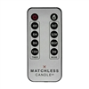 Matchless - 5-Function Hand-Held Remote Control - Works With Matchless Moving Flame LED Candles