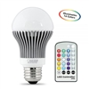 Feit Electric - LED Bulb - A19 - Remote Control -Color Changing - White/Red/Green/Blue -  Dimmable w/ Remote Control