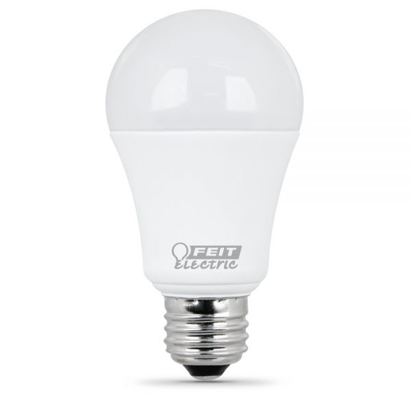 Feit Electric   LED Bulb   A19   60W Equivalent   2700K Warm White   800  Lumens   Non Dimmable