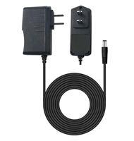 AC to DC Wall Power Adapter - Slim-Line Profile - 100VAC-240VAC to 3.3VDC@1A - Works With Battery Eliminator Kits