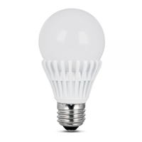 Feit Electric - LED Bulb - A19 - 40W Equivalent - 5000K Natural Daylight - 500 Lumens - Dimmable
