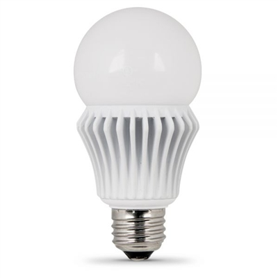 Feit Electric - LED Bulb - A19 - 60W Equivalent - 3000K Warm White - 800 Lumens - Dimmable