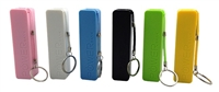 "USB Power Bank - 2600mAh Rechargeable Li-Ion Battery - Rectangular ""Perfume"" ABS Housing"
