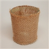 "David Tutera Casual Elegance - Tealight Candle Cup Holder - Burlap Cover - 2.2"" x 2.6"""
