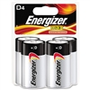 Energizer MAX - D-Cell - 1.5V - Alkaline Battery - 4-Pack