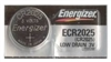 Energizer -  CR2025 - 3V - Lithium Button Battery - Tearstrip 1-Pack