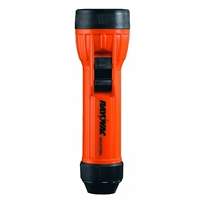 Rayovac Industrial Grade Mine Safety Flashlight - 8 Lumens - Polypropylene - 2 x D Batteries