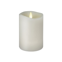 "Luminara - 360-Degree Flameless LED Candle - Indoor - Unscented White Wax - Remote Ready - 3"" x 4"""
