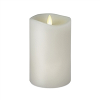 "Luminara - 360-Degree Flameless LED Candle - Indoor - Unscented White Wax - Remote Ready - 3"" x 6"""