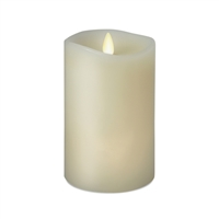 "Luminara - 360-Degree Flameless LED Candle - Indoor - Vanilla Scented Ivory Wax - Remote Ready - 3"" x 6"""