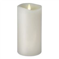 "Luminara - 360-Degree Flameless LED Candle - Indoor - Unscented White Wax - Remote Ready - 3"" x 8"""