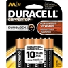 Duracell Coppertop With Duralock Technology - AA - 1.5V - Alkaline Battery - 8-Pack