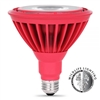 Feit Electric - LED Bulb - PAR38 - Weatherproof - Red - 191 Lumens - Non-Dimmable