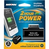 Rayovac Power Bank - 30-Pin Apple Plug (iPhone 4s & Below) - Includes 1 x 123A Lithium Battery