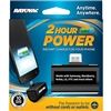 Rayovac Power Bank - Micro-B USB Plug - Includes 1 x 123A Lithium Battery