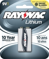 Rayovac - 9V - Lithium Battery - 1-Pack