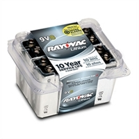 Rayovac - 9V - Lithium Battery - Pro 8-Pack
