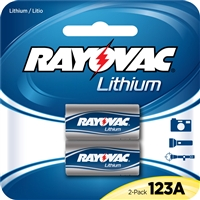 Rayovac - 3V - Lithium Battery - 2-Pack