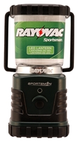 Rayovac Sportsman Area LED Lantern  - 240 Lumens - ABS Construction - 3 x D Batteries