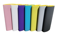 USB Large Capacity Power Bank - 15,600mAh Rechargeable Li-Ion Battery - Seamless Wrap-Around ABS