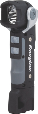 Energizer HardCase Professional LED Swivel Head Flashlight - 100 Lumens - Rubber Overmould - 2 x AA Batteries