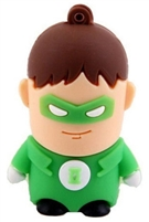 Superhero USB Flash Drives - 8GB - GREENLANTERN