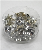 36 round diamond pin clear. 0420020