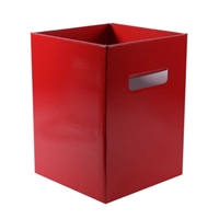 Flower Box Pearlised Red. 0800403