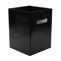 Flower Box Pearlised Black. 0800449
