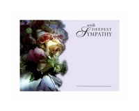 Large Sympathy Cards With Deepest Sympathy  1560001