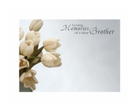 Large Sympathy Cards Brother.  1560021
