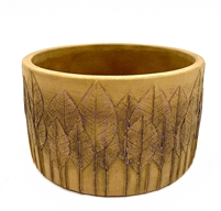 Natural Leaf Bowl 17cm